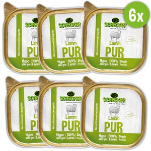 DOGREFORM Schälchen-PUR Lamm, 6 x 200 g Hypoallergenes Lammfleisch ganz ohne irgendwelche weiteren Zutaten.! Ein echter Hochgenuss pur oder auch im Mix