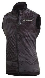 adidas Damen Wander-Weste TERREX Agravic XC Polartec Alpha Athlete Weste schwarz, Größe:XL