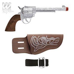 Widmann Cowboypistole mit Halfter und Gürtel Spielzeugpistole