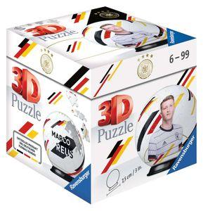 RAVENSBURGER 3D Puzzle-Ball DFB-Nationalspieler Marco Reus Kinderpuzzle 54 Teile
