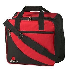 Bowlintasche Ebonite Basic 125 für Bowlingball und Bowlingschuhe Rot