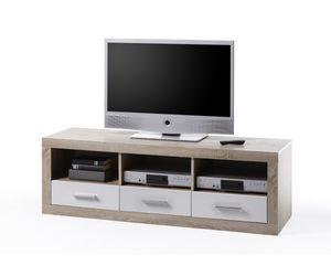 Lowboard TV - Regal Kommode Sideboard Eiche Sägerau ca. 147 cm breit 45-646-68 Can Can