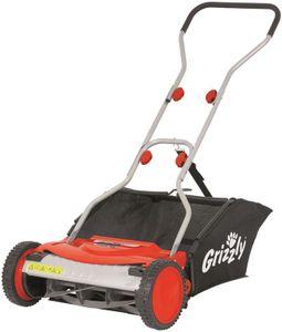 Grizzly Tools Handrasenmäher Spindelmäher HRM 38 mit Fangkorb, 38 cm Schnittbreite, stufenlose Höhenverstellung, inkl. Fangkorb