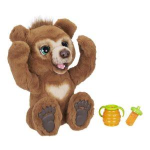 FurReal Friends - Cubby Interaktiver Plüsch, neugieriger Bär