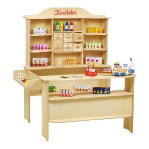 Roba Verkaufsstand inkl. Zubehör Seitenverbindungskasten,6 Holzschubladen