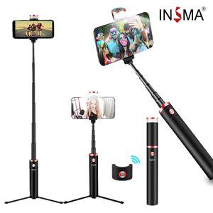 3 in1 Bluetooth Selfie Stick Stativ Selfie-Stange Stab 360°Rotation Profi Halter