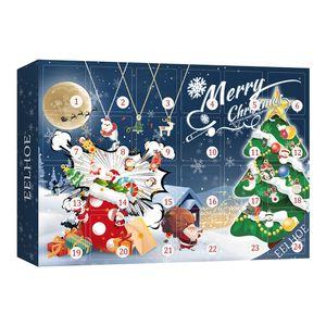 Weihnachten Adventskalender 2021 24 Tage Countdown Kalender Anhänger Set für Kinder/Kinder Neujahrsgeschenk Weihnachtsbaum Hängende Ornamente