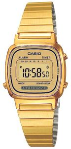 Casio LA670WEGA-9EF Digital Damenuhr
