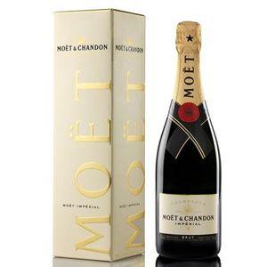 Moët & Chandon Impérial brut Champagner in Geschenkpackung | 12 % vol | 0,75 l