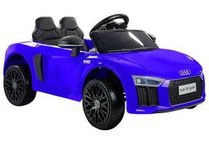 Audi R8 Spyder Kinder Auto Kinder Elektroauto Kinderfahrzeug 12V Ledersitz Blau