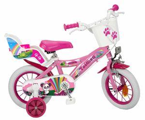 12 Zoll Kinder Mädchen Fahrrad Kinderfahrrad Mädchenfahrrad Rad Bike Fantasy PINK
