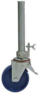 Krause Fahrrolle 150 mm, höhenverstellbar