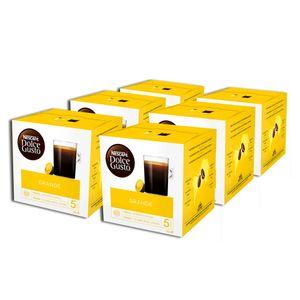 Nescafé Dolce Gusto Grande, Kaffee, Kaffeekapsel, 6er Pack, 6 x 16 Kapseln