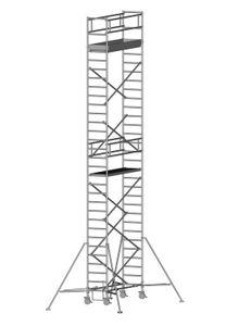 ZARGES Multitower 1T - LM-Fahrgerüst Ausleger Arbeitshöhe 10,35 m