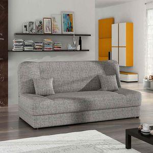 Mirjan24 Schlafsofa Jonas, Stilvoll Polstersofa vom Hersteller, Sofa mit Bettkasten und Schlaffunktion (Lawa 05)