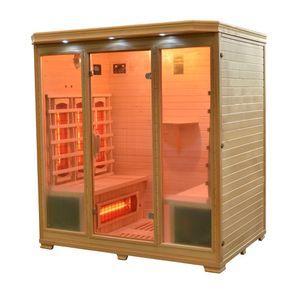 Infrarotkabine Granby Sauna Vollspektrumstrahler DUALTHERM Tiefenwärme Infrarot
