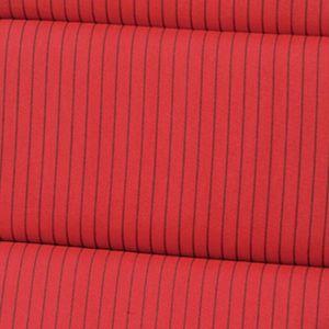 SUN GARDEN Sitzkissen Sitz Kissen rot schwarz Wende Sitzauflage Auflage Polster Gartenstuhl