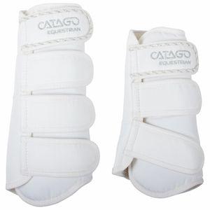 CATAGO Gamaschen DIAMOND - weiß Warmblut