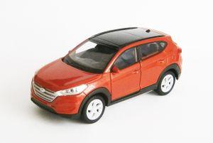HYUNDAI TUCSON Modellauto Metall Modell Auto Spielzeugauto PKW Welly 33(Orange)