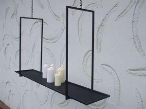 Eleganter, stabiler Deckenhänger, Küchenhänger, Hängeregal, Eisen