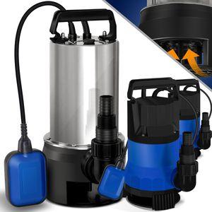 MASKO® Schmutzwasserpumpe Tauchpumpe Schwimmerschalter Wasserpumpe Tauchdruckpumpe Brunnenpumpe Gartenpumpe, Farbe:Blau, Größe:750 Watt