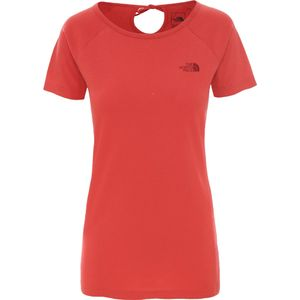 The North Face W BERARD TEE SUNBAKED RED SUNBAKED RED L