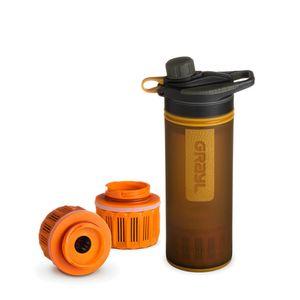 Grayl GeoPress Outdoor- & Reisewasserfilter mit 2 Ersatzfiltern - Coyote Amber
