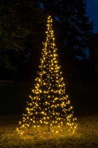 FHS 35236 Weihnachtsbaum 200cm 300 LEDs warmweiß Ø140cm Metallgestell