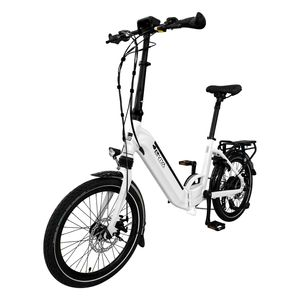"E-Bike 20"" Klapprad B13 Stadtfalter AsVIVA 36V 14,0Ah Elektro-Klapprad Faltbares Elektrofahrrad 25km/h Pedelec weiß E-Bi"