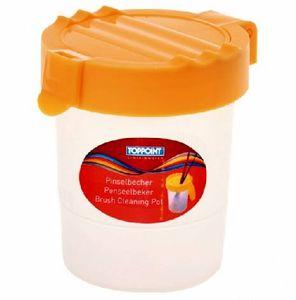 Sortiment Pinselbecher 5 Farben je 3 Stück