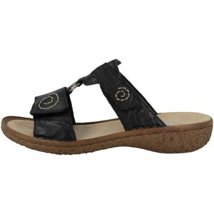 Rieker V69N2 Damen Schuhe Pantoletten Clogs, Größe:40 EU, Farbe:Schwarz