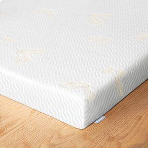 Newentor® 7cm Gelschaum Topper 180 x 200 cm Matratzentopper 2-in-1 Viskotopper, Gel Memory Topper für Bett Boxspringbett Schlafsofa, Bezug waschbar