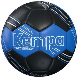 Kempa Handball TINEO Edition Size 1 Spielball 200189901 schwarz, Farbe:Schwarz - Blau