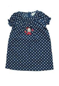 Disney Minnie Mouse Baby Sommerkleid Blau, Größe:80