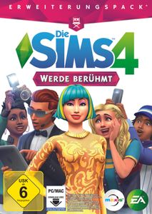 Die Sims 4 - Werde berühmt (Add-On) (CIAB) - CD-ROM DVDBox