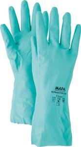 MAPA Handschuh Ultranitril 492 Gr.7 grün (Inh. 10 Paar)