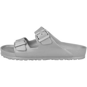 BIRKENSTOCK Arizona Herren Sandalen Grau Schuhe, Größe:46