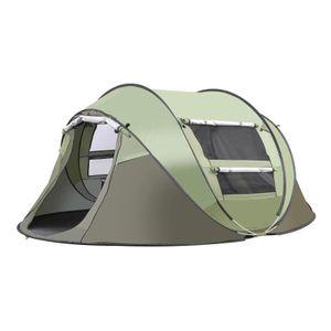 3-4 Personen Wurfzelt Quick-up Zelt Automatikzelt Familienzelt Campingzelt