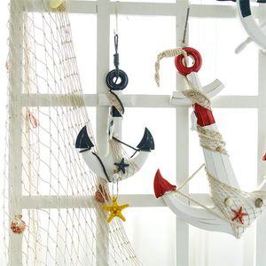 Favson Cremeweiß Fischernetz Strand Thema Nachbildung für Party Home Wohnzimmer Schlafzimmer 78 Zoll Mittelmeer