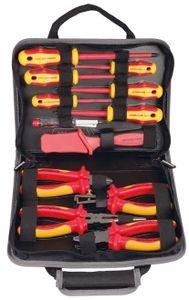 Projahn VDE Elektriker Werkzeug Mappe 12 teilig 8687