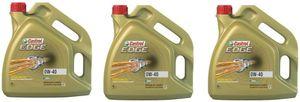 GroßhandelPL Castrol Edge Synthöl 0W-40 CAS-003 Motorenöl, 3er Pack 3 x 4 L