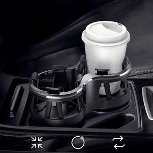 MidGard Auto Doppelgetränkehalter KFZ Getränkehalter Becherhalter Dosenhalter