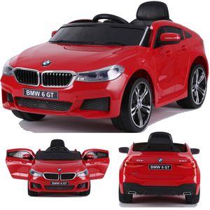 BMW GT 640i SUV Kinderauto Kinderfahrzeug Kinder Elektroauto mit Türen 12V 2x Motoren Rot