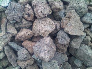 25 kg Lava Steine 40-150 mm