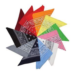 12er Set Paisley Western-Stil Kopftuch Bandana Set von Großes Schal Set für Frauen, Männer und Kinder -Bandanas als Halstuch, Taschen, Hunde und Mode-Accessoires 100% Baumwolle( Blaues & Multi Schals)