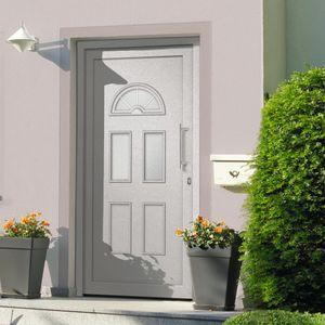 CLORIS Zimmertür Haustür - Weiß 88x208 cm #DE109295