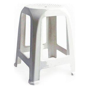 Hocker Aroa Kunststoff Weiß (26 X 26 x 47 cm)
