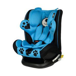 Mos Martin Kindersitz mit Isofix Blue Crocodile 0 -36 kg, 135 Grad Schlafposition
