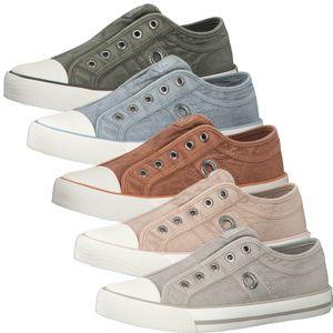 s.Oliver Damen Sneaker Slipper Halbschuhe 5-24635-26, Größe:40 EU, Farbe:Grau