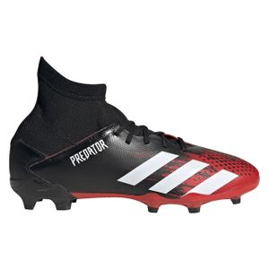 adidas Kinder Fußballschuhe Predator 20.3 FG CBLACK/FTWWHT/ACTRED 38